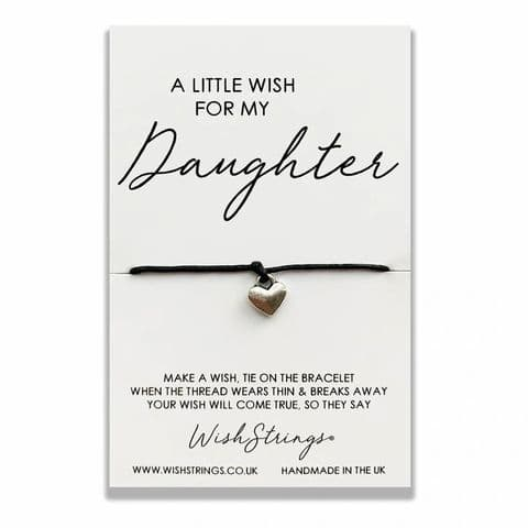 A Little Wish For My Daughter ... Wishing Bracelet.